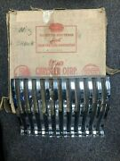 1942 Desoto Grille Right Side Beautiful New Old Stock 972441 In Original Box