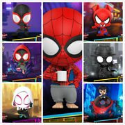 Hot Toys Spider-man Into The Spider-verse Cosbaby Mini Figure Toy Cosb635-641