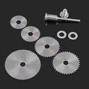 High Speed Steel Circular Wood Saw Blades 22/25/32/35/44/50mm Out Dia Mandrel