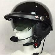 Bell Pit Boss With Jandm 801 Headset And Harley Davidson 7 Pin Lower Cord