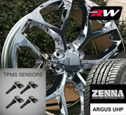 20 X9 Inch Wheels And Tires For Chevy Tahoe Replica Ck156 Chrome Rims