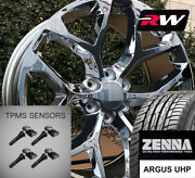 20 X9 Inch Wheels And Tires For Chevy Avalanche Replica Ck156 Chrome Rims