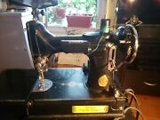 1936 Singer Featherweight 221 Sewing Machine Serial Ae085091