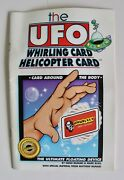 Vintage 1997 Whirling Helicopter Card Book Houdiniand039s Magic Shop Las Vegas Trick