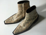 Dsquared2 Python Couture One-off Menand039s Boots Soles By Vera Cuoio Size 41