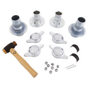 Mga 1600cc Centre Lock Conversion Kit Wire Wheel 2 Eared Spinners Gac7026
