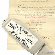 Letter Opener Clock With Box And Papers