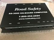 One Genuine Road Safety Rs-3001 On-board Computer Serial 19489