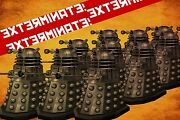 Xl Doctor Who The Daleks Exterminate Canvas Picture Wall Artandnbsp