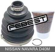 Boot Outer Cv Joint Kit 88x126x26.5 For Nissan Navara D40m 2005-