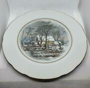 6 Vintage Avon China Plates 8 Awarded Exclusively To Representatives Watermill