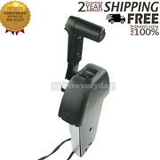 Marine Outboard Remote Control Box For Yamaha Console 704 Single Thumb-operated