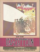 Led Zeppelin Ii Japan Band Score Song Book Guitar Tab Jimmy Page