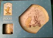 Enesco Ltd Classic Pooh Plate, Cup And Bowl Nursery Set, Boxed, Great Gift Idea