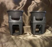 Bon Chef Pewter Butter Warmers 3.5 Used