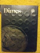 1979-2008 Dime Collection W/official Whitman Coin Folder - Great Condition