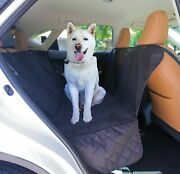 Auto Suv Car Universal Pet Dog Back Rear Seat Bench Mat Cover Waterproof