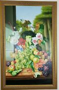 Furnitureland South Painting - Fruit Flowers Exquisite Frame Chelsea House