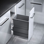 Hailo Kitchen Cabinet Cargo Synchro Pull Out Waste Bins Soft Close System