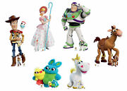 Toy Story 4 Official Disney Cardboard Cutout Collection With Free Minis Set Of 6
