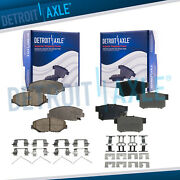Si And Ex Models For 2013 2014 2015 Honda Civic Front And Rear Ceramic Brake Pads