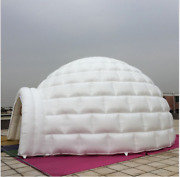 26' 8m Promotional Inflatables Event Signs Giant Igloo Dome Free Logo So
