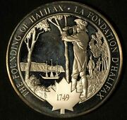 Medallic History Of Canada The Founding Of Halifax Silver Medal - Free Ship Us