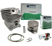 Meteor Cylinder Piston Kit For Stihl Ms362 47mm Replaces 1140 020 1200 Italy