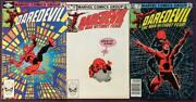 Daredevil 186 To 188 Marvel 1982 3 X Bronze Age Issues.