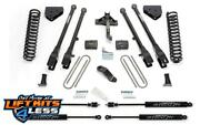 Fabtech K2120m 6 4 Link Lift Kit W/stealth Shocks For 2008-2016 Ford F-250 4wd