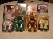 Ty Beanie Babies-limited Edition Mcdonaldandrsquos Complete Set With Errors