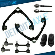 Rwd 2006-2012 Colorado Canyon 10pc Front Upper Control Arm W/ Ball Joint Tierods