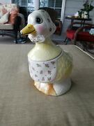 Vintage Weiss Mother Goose Cookie Jar - Made In Brazil - Great / Used Condition.