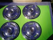 1967 Chevelle Ss Chevrolet Chevy Stainless Steel Mid 1960and039s Hubcaps Caprice