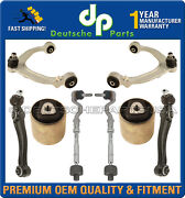Upper Lower Control Arm Ball Joint Bushings Tie Rod Kit For Bmw E70 X5 X6