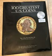 100 Greatest Us Coins By Garrett And Guth New Hardcover Book W/ Dust Jacket 2003