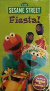Sesame Street Fiestavhs 1997tested Rare Vintage Collectible Ships N 24 Hours