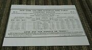 1855 New York And Erie Railroad Employee Timetable - Piermont Branch - Ett