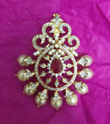2.75ct Natural Round Diamond Ruby Pearl Gemstone 14k Solid Yellow Gold Pendant