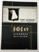 101st Airborne Division Fort Jackson South Carolina 501st Infantry 1955 Yearbook