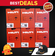 Hilti Gx 120 Or Gx 3 Pins And Gas, 6 Boxes 3/4 , Pins, Free Hat , Fast Shipping