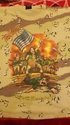 Ted Nugent Shock And Awe Nuge 03 Camo Shirt Xl Rare Saddam Captured By Us Army