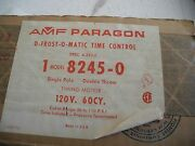 Amf Paragon D-frost-o-matic Time Control 8245-0 Single Pole Double Throw - New