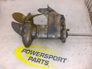 54 55 56 57 58 Evinrude Johnson Omc 25 Hp 25hp Lower Unit Gear Casing And Prop