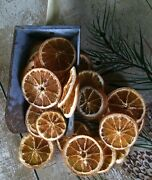 15 Primitive Dried Orange Slices - Bowl/canning Fillers Farmhouse Country Decor