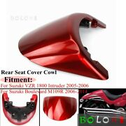 Motorcycle Parts Red Rear Seat Cover For Suzuki Boulevard Vzr 1800 M109r 2005-up