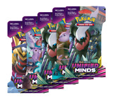 Pokemon Unified Minds Booster Pack X 5 - Sleeved Packs - Factory Sealed