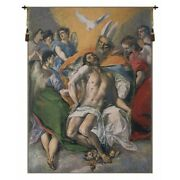 The Holy Trinity By El Greco European Woven Tapestry Wall Hanging