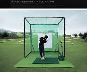 Brand New Large Area To Play Golf-golf Outdoor Practice Network Without Mat