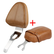 Driver Backrest Support Pad + Passenger Pillion For Indian Scout Sixty 2016-2018